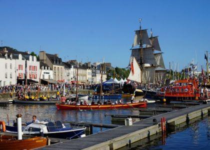 Visitez le port de Vannes proche de Damgan